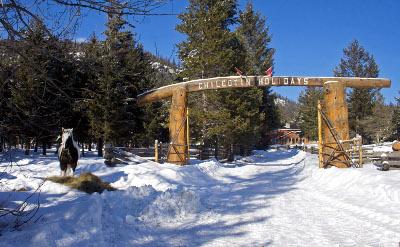 ESL Winter Program-Ranch in winter
