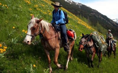 Wilderness Classroom-Pack trip