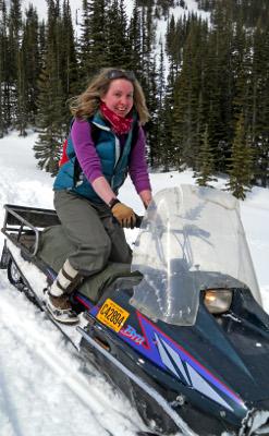 ESL Winter Program-Snowmobiling